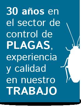 experiencia control de plagas